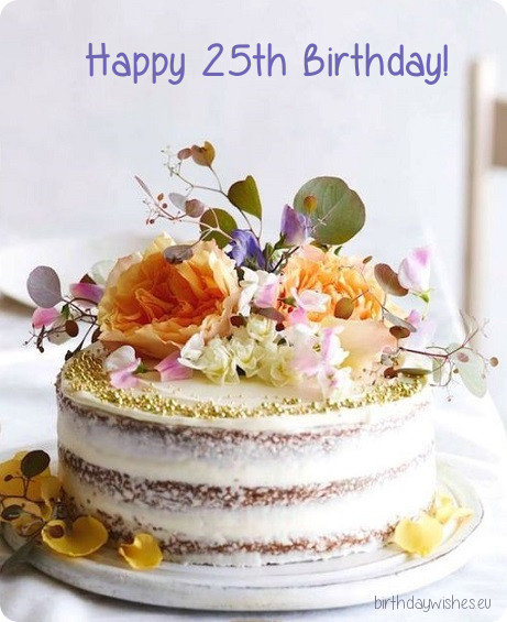 25th birthday quotes for girl