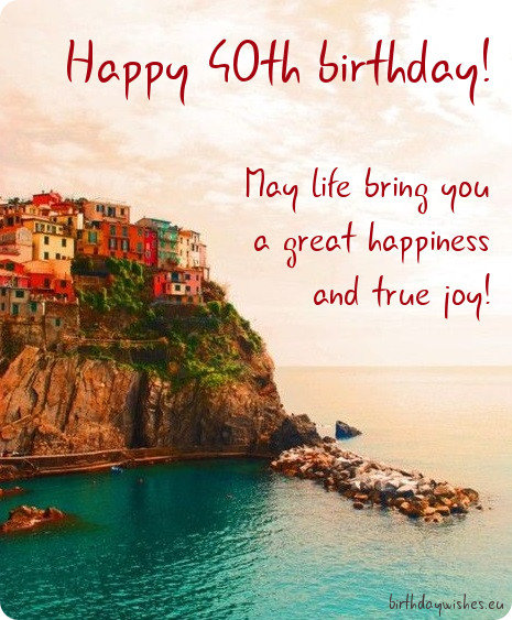 Happy 40th Birthday Wishes For Friend | BirthdayWishes.eu