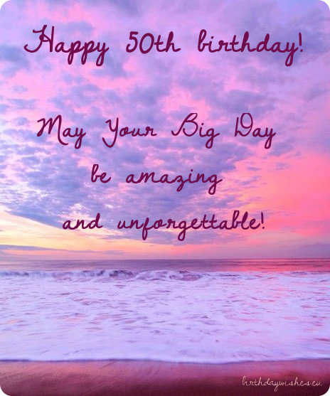 50th Birthday Wishes For Female Friends With Images