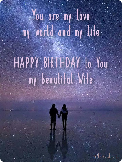 beautiful birthday image for wife