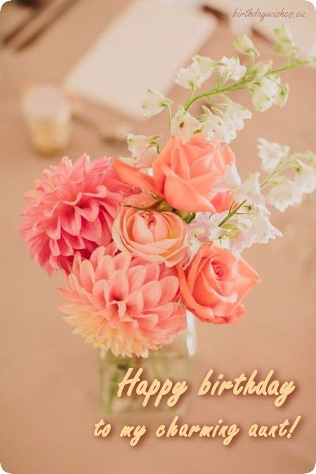 Happy Birthday Aunty Birthday Wishes For Aunt With Images