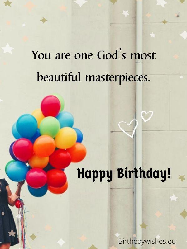 birthday ecard for christian