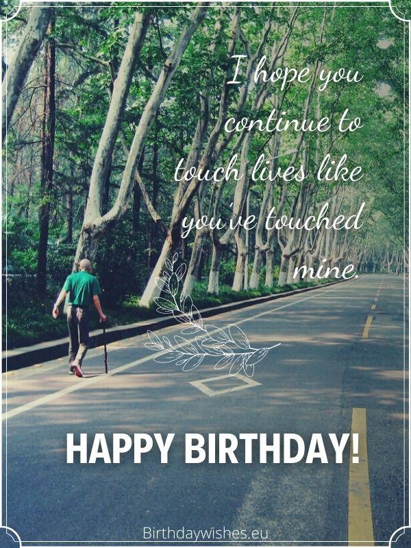 birthday card for elderly