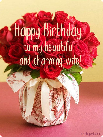 50 romantic happy birthday wishes for wife from husband with images birthday card for wife bookmarktalkfo Choice Image