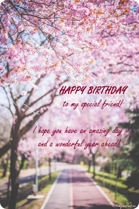 Beautiful Birthday Card For Best Friend Female Ecard Bestie