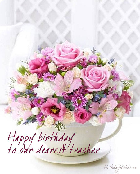 birthday ecard for teacher