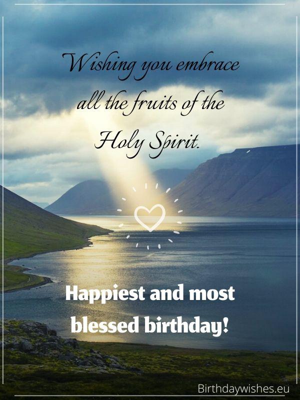 birthday greeting for christian