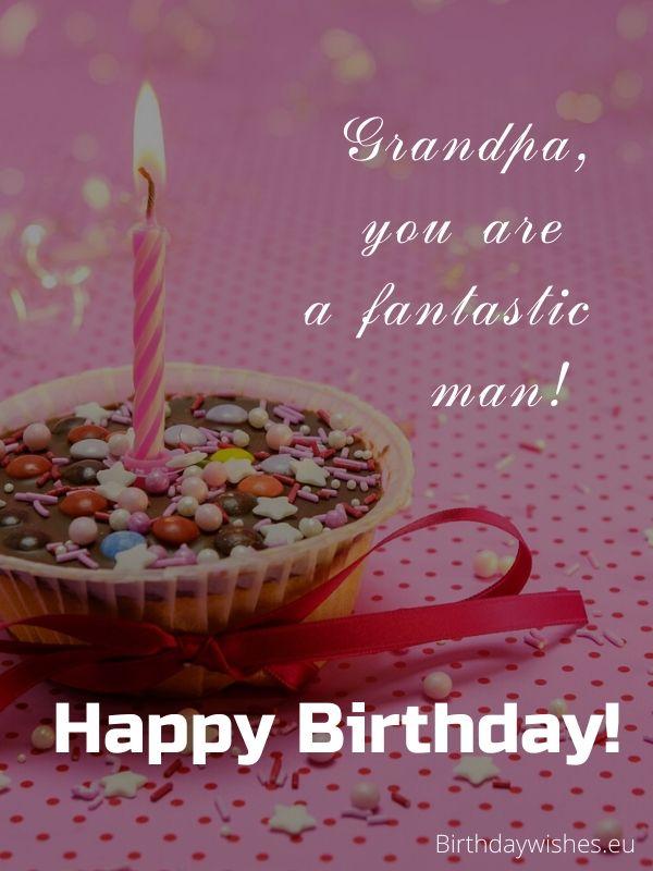 birthday greeting for grandpa