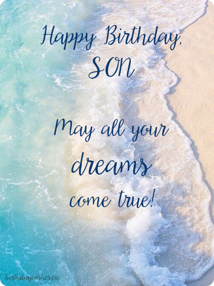 birthday image for son