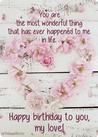 birthday message for girlfriend