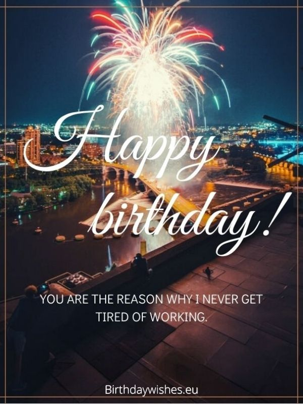 Happy Birthday Colleague | Top 20 Birthday Wishes For ...