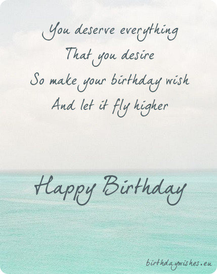 Happy Birthday Poems For Friends – Birthday Greeting Poems