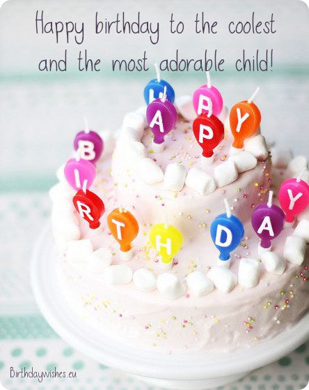 birthday wishes for child
