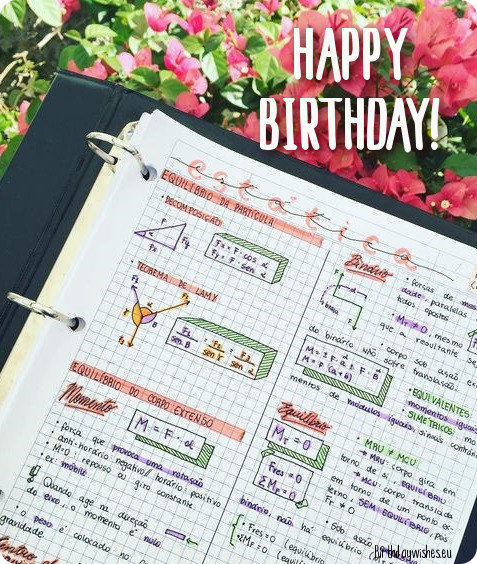 birthday wishes for physics teacher