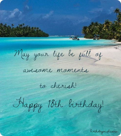 18th Birthday Wishes For Friend (With Images