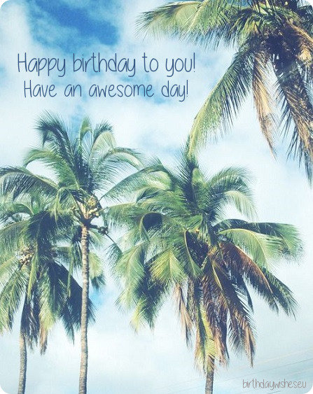 happy bday card for special person