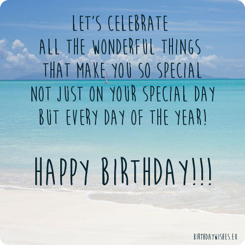 birthday ecard with message