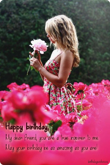 happy birthday ecard for best friend female