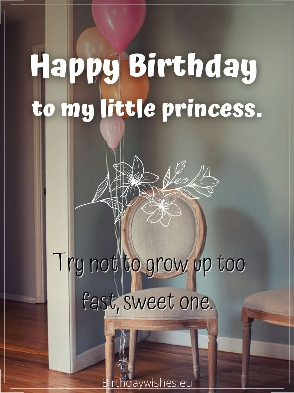 Happy birthday, little princess
