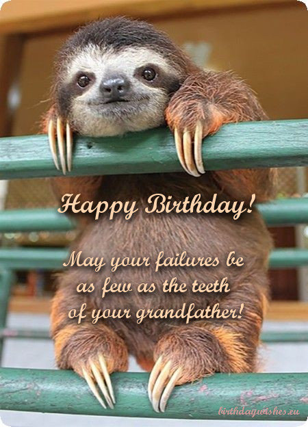 humorous birthday wishes