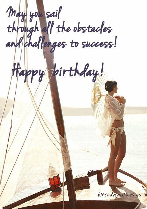 birthday ecard may you sail