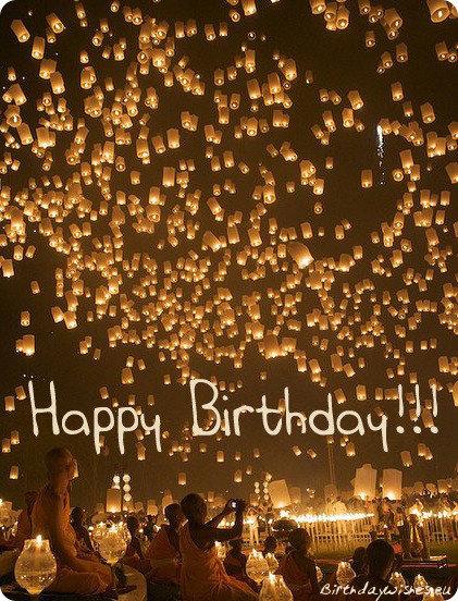 short birthday wishes ecard