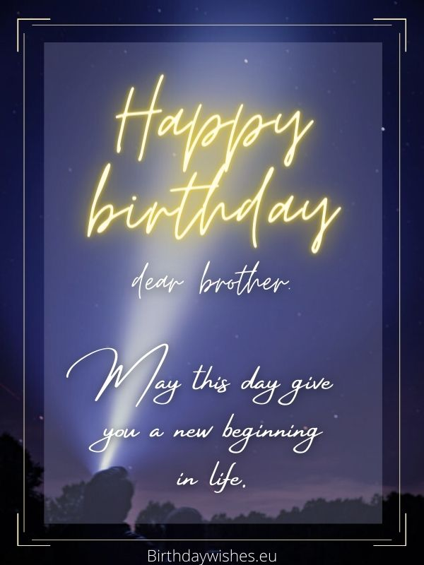 Short funny birthday wishes for elder brother